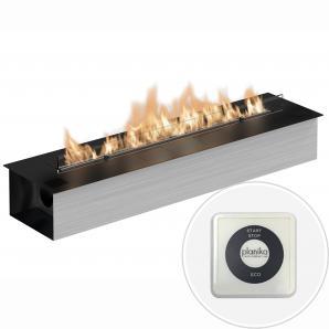 Автоматический биокамин Planika Fire Line Electronic L=990 black