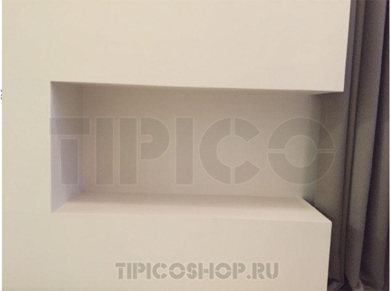 встраиваемый биокамин угловой B-box 140